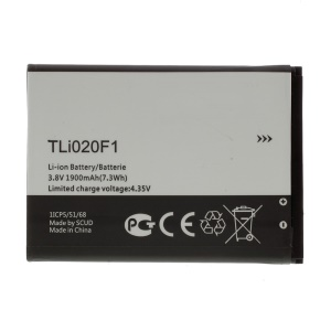 OEM TLi020F1 1900mAh Li-ion Battery for TCL J720T J726T J720 J728T