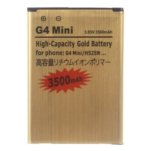3500mAh Gold Rechargeable Li-ion Battery for LG G4c H525N/G4 Beat H735T