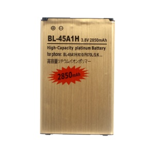 BL-45A1H 2850mAh Gold Li-ion Battery for LG K10 F670L/S/K