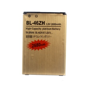 BL-46ZH 2680mAh Gold Li-ion Battery for LG K7 Tribute 5 LS675