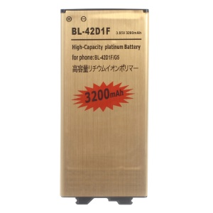 3200mAh Gold Rechargeable Li-ion Battery Replacement for LG G5