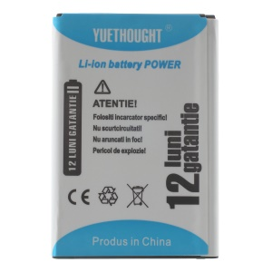 YUETHOUGHT 3000mAh Li-ion Battery Replacement for LG G3 D850 D855 LS990