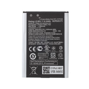 OEM C11P1428 2300mAh Li-Polymer Battery Replacement for Asus Zenfone 2 Laser ZE500KL