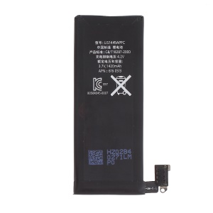 For iPhone 4 Replacement Li-ion Battery 3.7V 1420mAh (Without Logo)