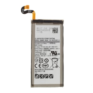 EB-BG950ABE 3.85V 3000mAh Li-ion Battery Replacement (CE/FCC) for Samsung Galaxy S8 G950