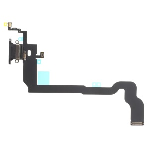OEM Charging Port Flex Cable Parts for iPhone X/10 - Black