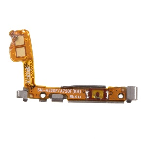 OEM Power Switch Button Flex Cable Replacement for Samsung Galaxy A7 (2017) SM-A720 / A5 (2017) SM-A520