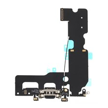 Charging Port Flex Cable Replacement for iPhone 7 Plus 5.5 inch - Black