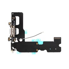 Charging Port Flex Cable Repair Part for iPhone 7 Plus 5.5 inch - Grey