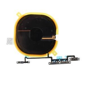 For iPhone X (Ten) OEM Volume Button Flex Cable + Qi Wireless Charging Port Flex Cable
