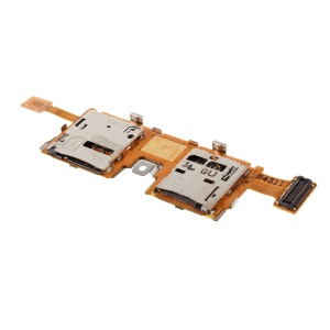 SIM/SD Card Reader Contact Flex Cable for Samsung Galaxy Note Pro 12.2 P905 (OEM Disassembly)