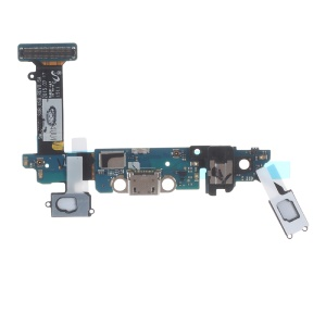 OEM Charging Port Flex Cable for Samsung Galaxy S6 SM-G920I - Black