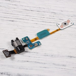 OEM Home Button + Earphone Jack Flex Cable for Samsung Galaxy J7 Prime / On7 (2016) G610