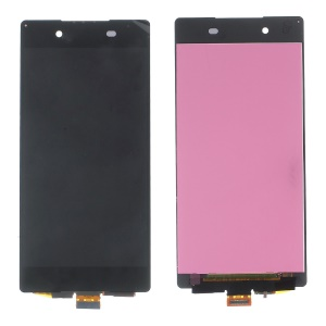 LCD Screen and Digitizer Assembly Replacement for Sony Xperia Z3+ E6553 - Black