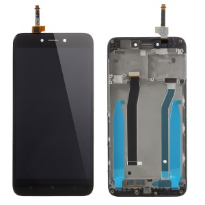 For Xiaomi Redmi 4X OEM LCD Screen and Digitizer + Assembly Frame Part - Black