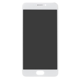 OEM LCD Screen and Digitizer Assembly + Frame for Meizu M5 Note - White