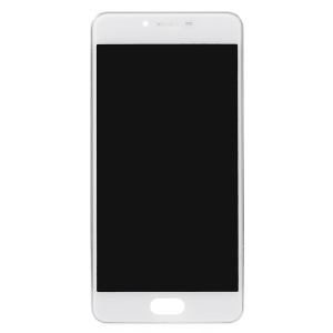 OEM LCD Screen and Digitizer Assembly + Frame Part Repair Part for Meizu m3s - White