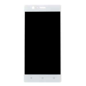 OEM LCD Screen and Digitizer Assembly Part for Nokia 3 - White