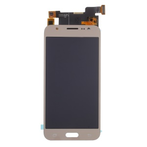 For Samsung Galaxy J5 SM-J500F LCD Screen and Digitizer Assembly Replacement Part with Screen Brightness IC - Gold