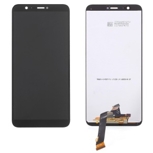 LCD Screen and Digitizer Assembly Replacement Part for Huawei P Smart / Enjoy 7S - Black