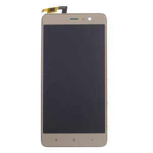 OEM LCD Screen and Digitizer Assembly + Frame Replace Part for Xiaomi Redmi Note 3 Pro (SE Overseas Edition) - Gold