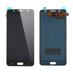 LCD Screen and Digitizer Assembly Part with Screen Brightness IC for Samsung Galaxy J5 (2016) SM-J510 - Black