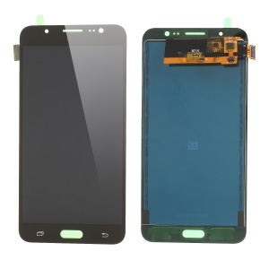 LCD Screen and Digitizer Assembly Part Replacement with Screen Brightness IC for Samsung Galaxy J7 (2016) SM-J710 - Black