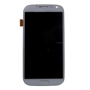 For Samsung Galaxy S4 I9505 LCD Screen and Digitizer Assembly + Frame with Screen Brightness IC - White