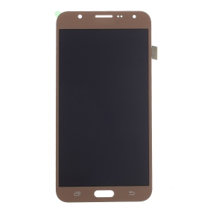 LCD Screen and Digitizer Assembly Part Replacement with Screen Brightness IC for Samsung Galaxy J7 SM-J700F - Gold