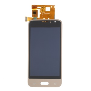 LCD Screen and Digitizer Assembly Replace Part for Samsung Galaxy J1 (2016) J120 - Gold