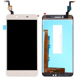 OEM LCD Screen and Digitizer Assembly Part Replacement for Lenovo Vibe K5 A6020 - Gold