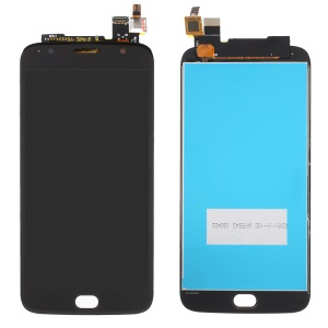 Screen and Digitizer Assembly Replacement Part for Motorola Moto G5S Plus - Black