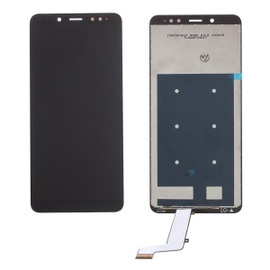 LCD Screen and Digitizer Assembly (Non-OEM Screen Glass Lens, OEM Other Parts) for Xiaomi Redmi Note 5 (12MP Rear Camera) - Black