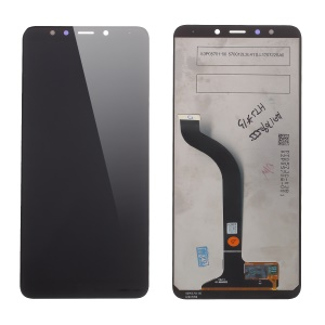 LCD Screen and Digitizer Assembly Replace Part (Non-OEM Screen Glass Lens, OEM Other Parts) for Xiaomi Redmi 5 - Black
