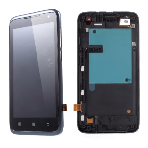 OEM LCD Screen and Digitizer Assembly with Front Housing for Lenovo A526
