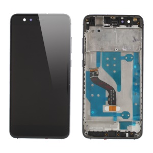 LCD Screen and Digitizer Assembly with Front Housing for Huawei P10 Lite - Black