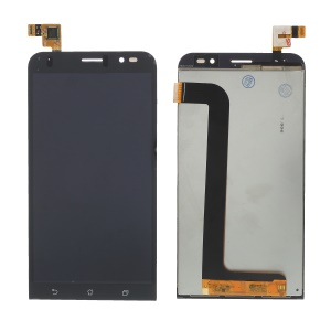 LCD Screen and Digitizer Assembly + Frame Part for Asus Zenfone Go ZB552KL - Black