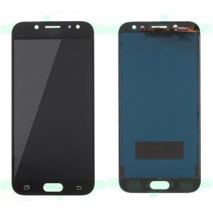 LCD Screen and Digitizer Assembly Part for Samsung Galaxy J5 2017 J530 with Screen Brightness IC and Adhesive Sticker - Black