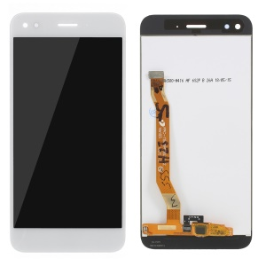 LCD Screen and Digitizer Assembly + Frame Replacement Part for Huawei P9 lite mini / Y6 Pro (2017) / Enjoy 7 - White