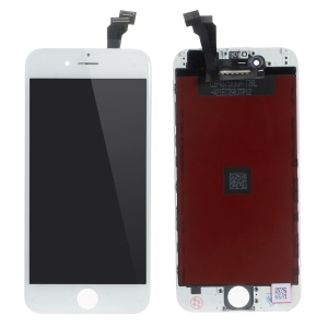 For iPhone 6 4.7 LCD Screen and Digitizer Assembly + Frame with Small Parts Replacement (Made by China Manufacturer, Tianma Glass, ESR+Full View) - White