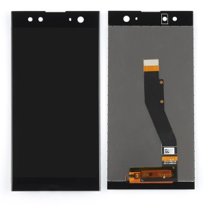 OEM Screen and Digitizer Assembly Part for Sony Xperia XA2 Ultra - Black