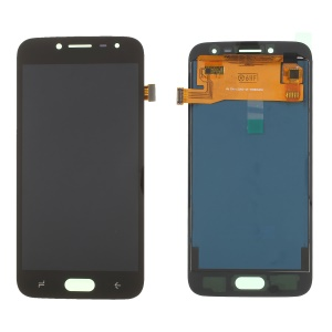 LCD Screen and Digitizer Assembly Part with Screen Brightness IC for Samsung Galaxy J2 Pro 2018 J250 - Black