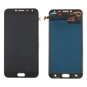 LCD Screen and Digitizer Assembly Part with Screen Brightness IC for Samsung Galaxy J4 (2018) J400 - Black
