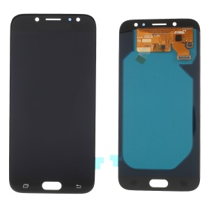 LCD Screen and Digitizer Assembly Replacement for Samsung Galaxy J7 2017 J730 (OLED Version) - Black
