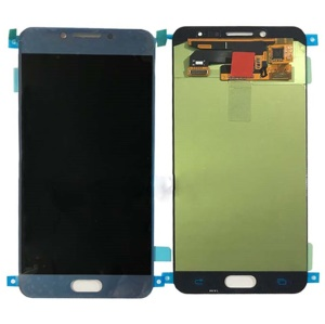 OEM LCD Screen and Digitizer Assembly Part Replacement for Samsung Galaxy C5 Pro (2017) C5010 - Blue