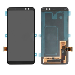OEM LCD Screen and Digitizer Assembly Replacement for Samsung Galaxy A8 (2018) A530 - Black