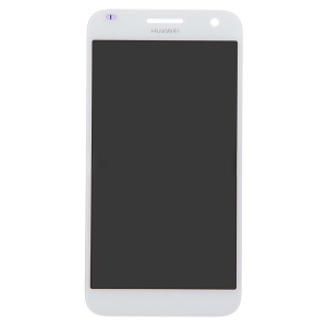 OEM LCD Screen and Digitizer Assembly for Huawei Ascend G7 - White