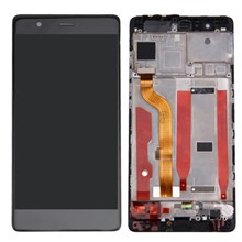 LCD Screen and Digitizer Assembly + Frame Replacement for Huawei P9 - Black