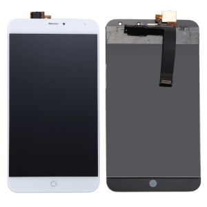 OEM LCD Screen and Digitizer Assembly for Meizu MX4 - White