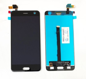 OEM LCD Screen and Digitizer Assembly Part for ZTE Blade V8 - Black